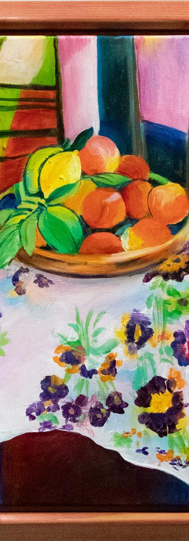 La Nature Morte aux Oranges by Nancy Corbin
