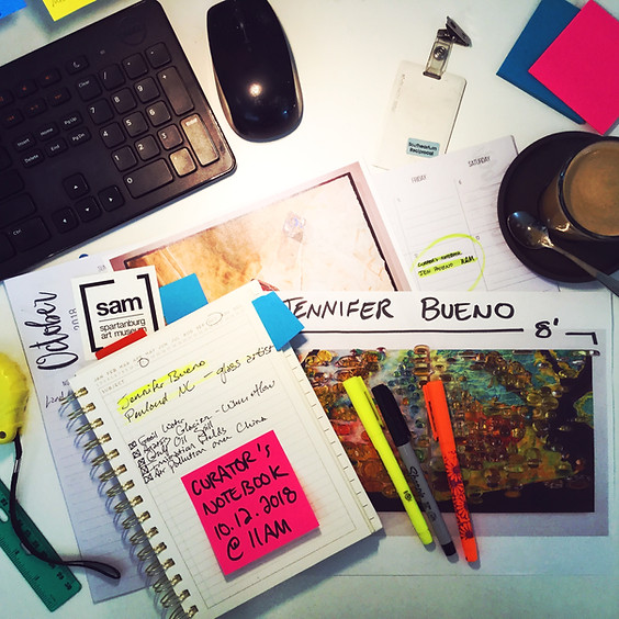 Curator's Notebook | Jennifer Bueno