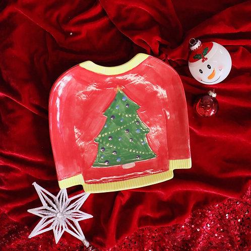 Holiday Sweater Dish Kit