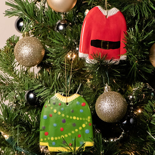 Holiday Sweater Ornament Kit