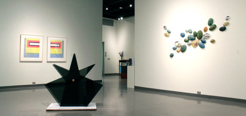 Furnace and Flame - installation view