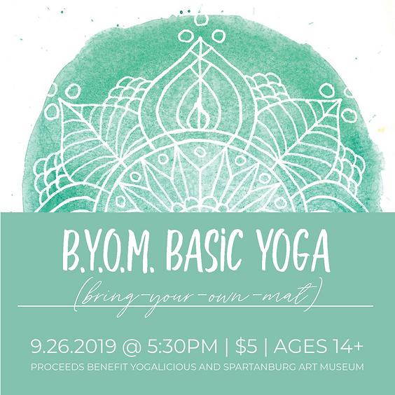 Basic Yoga - BYOM - September 26