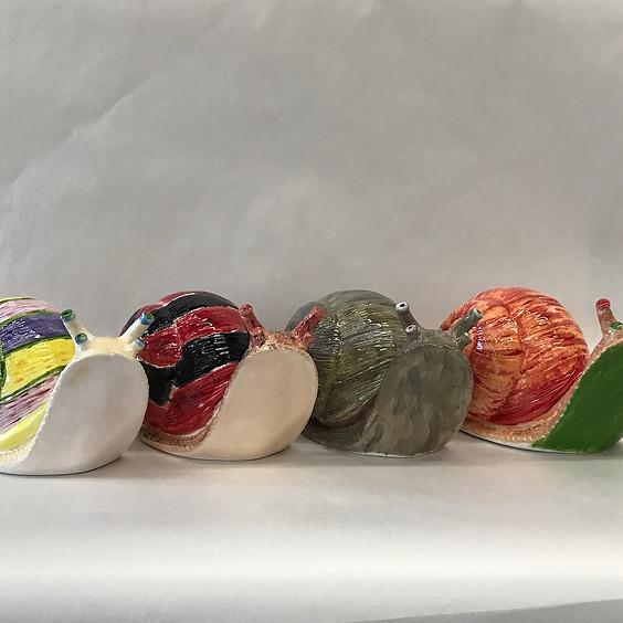 Art Workshop: Ceramic Snails