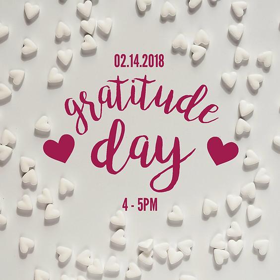 Gratitude Day 2018