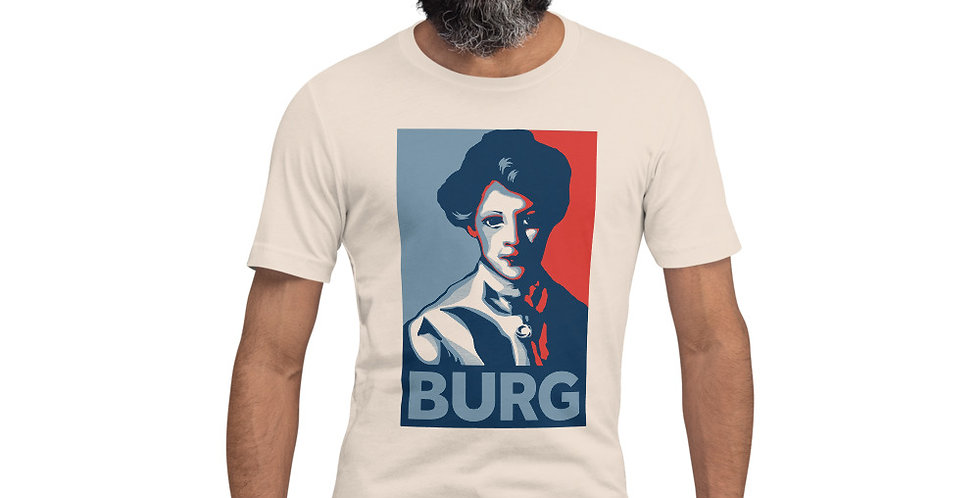 Girl with Red Hair BURG T-shirt   Unisex Fit