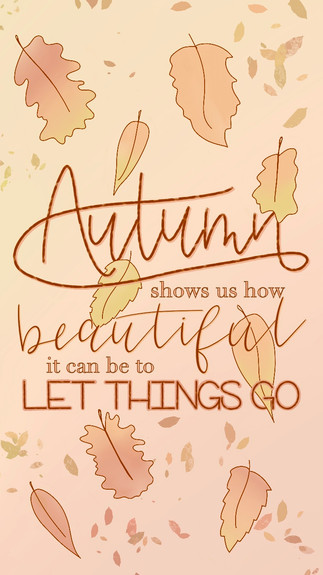 Autumn Shows Us How Beautiful It Can Be To Let Things Go