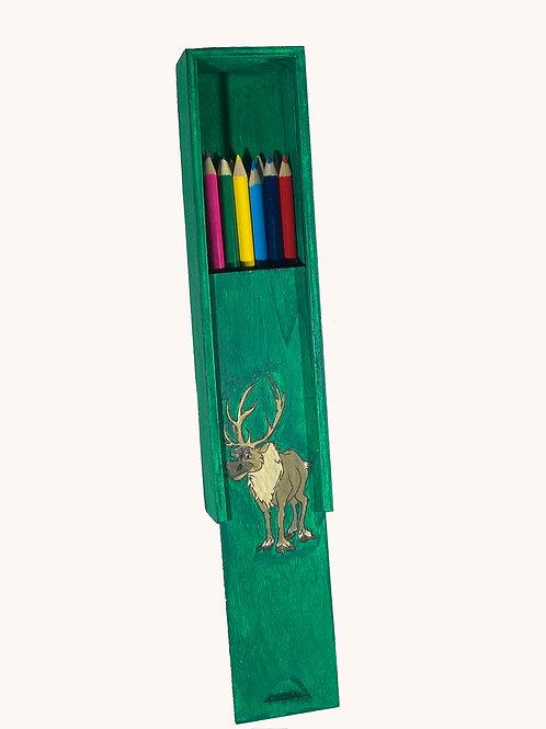 Boîte à crayons coulissante Swen