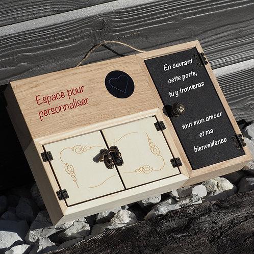 """La boîte Entre Nous """"A personnaliser"""""""