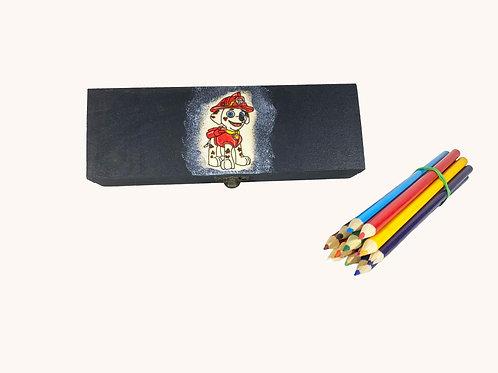 Boîte à crayons Pat'Patrouille