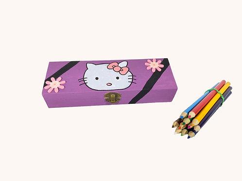 Boîte à crayons Hello Kitty