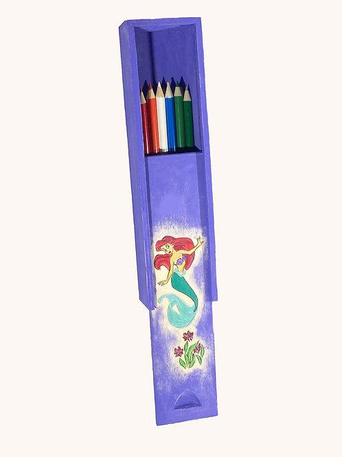 Boîte à crayons coulissante Ariel