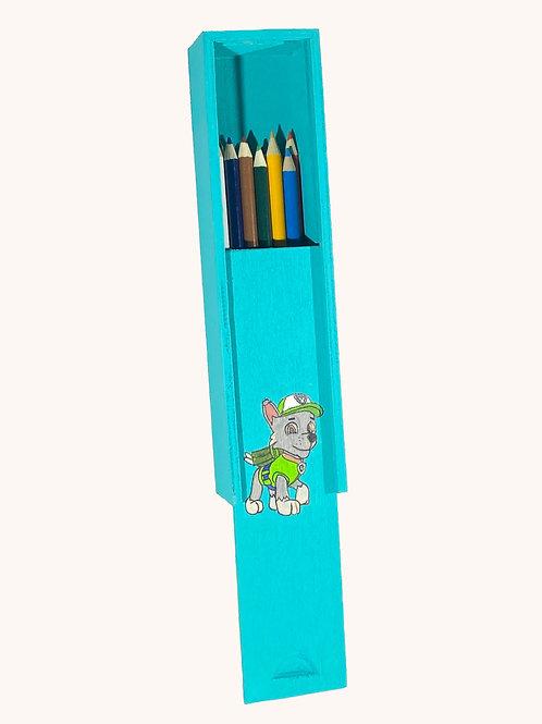 Boîte à crayons coulissante Pat'Patrouille