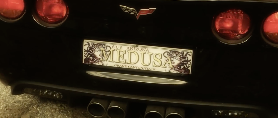 Medusa  Plaque