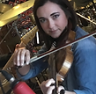 Jerilyn Wiseman plays a mean fiddle and amazing vocals for Breaking Eight.