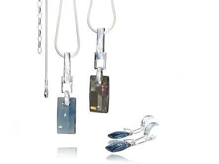 Elegant Necklace | Urban Embers Necklace by Ellen Kvam Norwegian Design