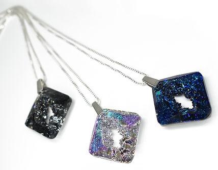 Cosmic Star Necklace | Sterling Silver | Swarovski Crystal