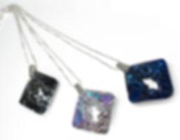 Cosmic Jewellery Pendant with Swarovski Crystals by Ellen Kvam Norwegian Design