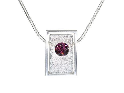 Birthstone Pendant Aquarius | Swarovski Crystal Birthstones