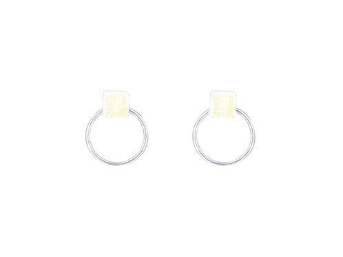 Svalbard Ice Hoop Earrings