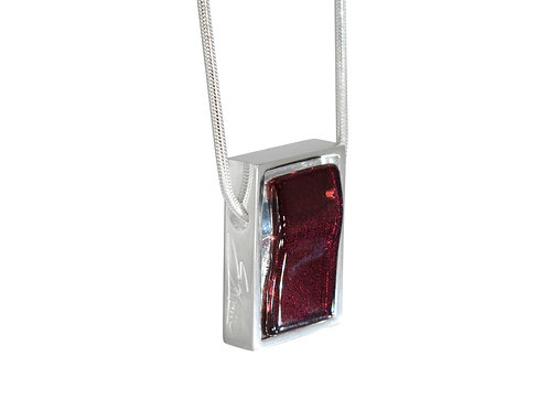 Northern Lights Pendant Sparkling Red Velvet