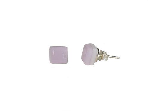 Light Pink Stud Earrings | Northern Lights Smykker | Ellen Kvam Norwegian Design