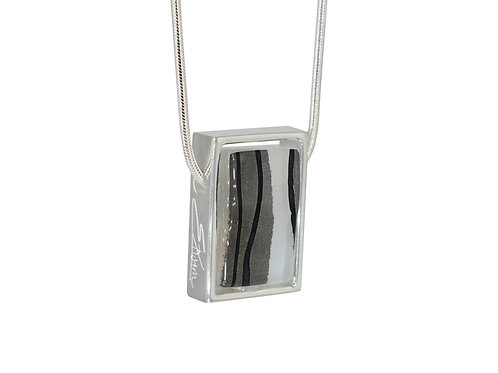 Zebra Print Necklace - Northern Lights Collection