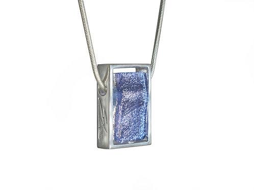 Handcrafted glass necklace by Ellen Kvam Norwegian Design