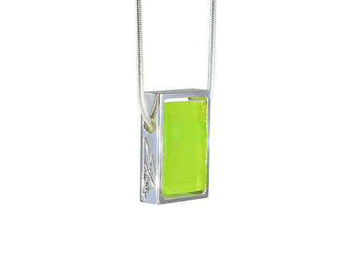 Neo Lime Necklace by Ellen Kvam Norwegian Design