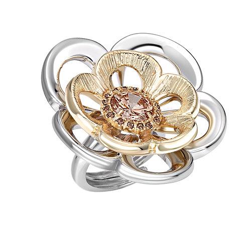 Designer Ring: Rose Ring by Ellen Kvam Norwegian Design