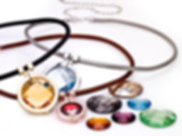 Ellen Kvam Norwegian Design Swarovski element necklaces