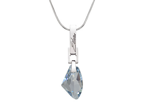 Ellen Kvam Frozen Embers Necklace Blue Shade