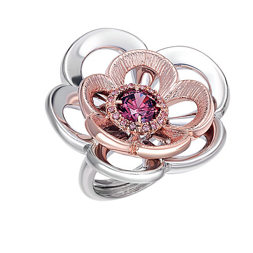 Rose Ring | Sterling Silver Ring | High End Ring | Ellen Kvam Norwegian Design