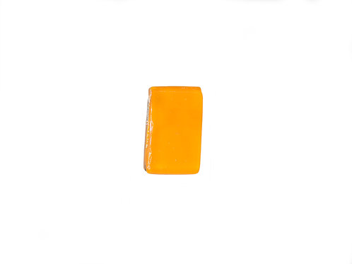 Northern Lights Glass Pendant Tangerine Orange