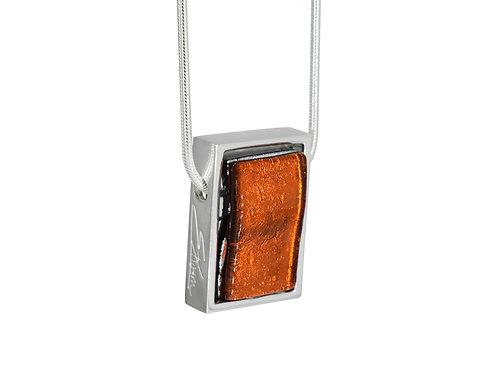 Northern Lights Necklace in Sparkling Orange