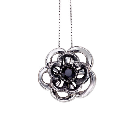 Rose Necklace | Sterling Silver Necklace | Ellen Kvam Norwegian Design