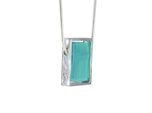 Bestselling Northern Lights Necklace in Lofoten Green