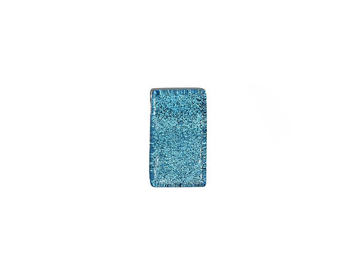 Northern Lights Glass Pendant Sparkling Blue