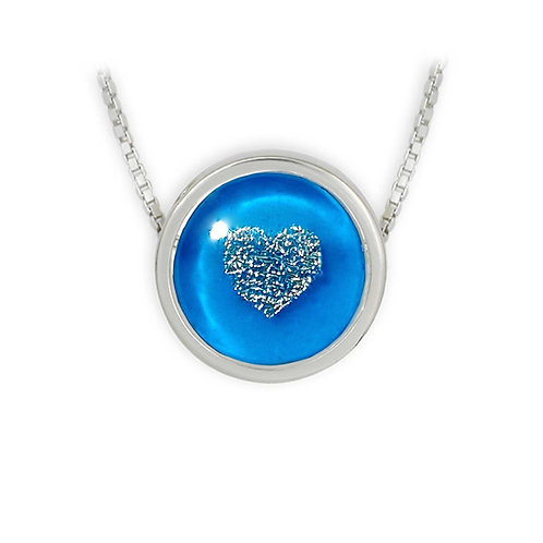 Hearts In The Ice Necklace