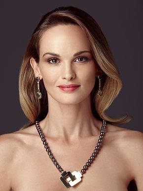 Ellen Kvam Pearl Necklace | 925 Silver necklace with Swarovski pearls