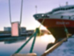Northern Lights Necklace | Light Pink Necklace | Hurtigruten Cruiseliners