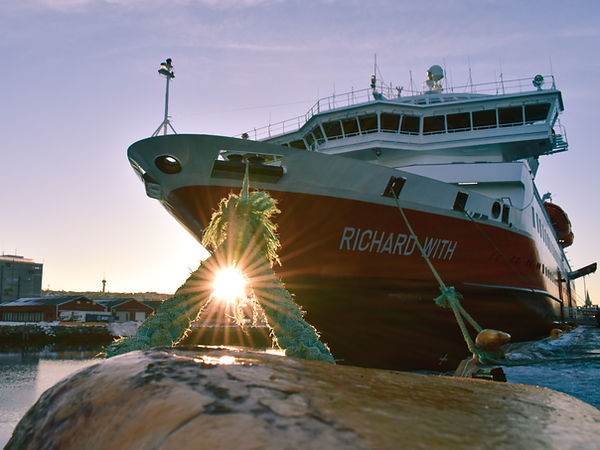 Hurtigruten Cruiseliner Richard With