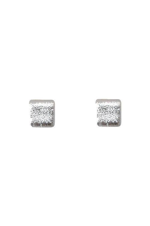 Sparkling silver Studs
