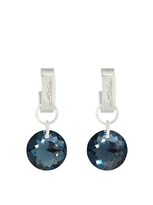 Classic Crystal Cut Earrings Montana