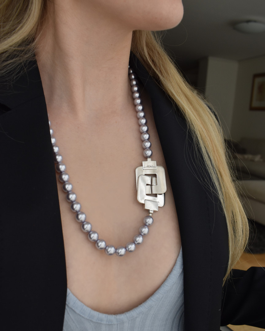 Pearl Necklace - Lavender