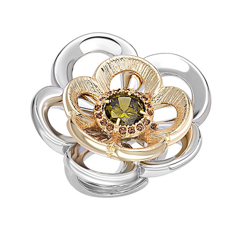 Rose Ring | Swarovski Crystal Ring | High End Ring | Ellen Kvam Norwegian Design