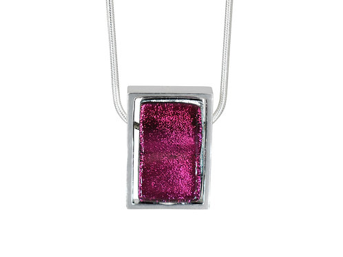 Northern Lights Necklace in Sparkling Fuchsia