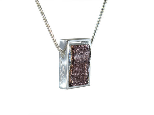 Sparkling Glass Necklace by Ellen Kvam Norwegian Design