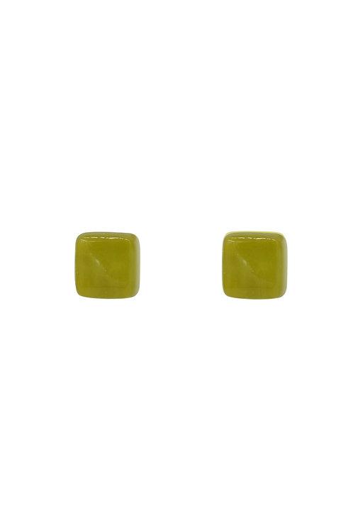 Olive Green Studs