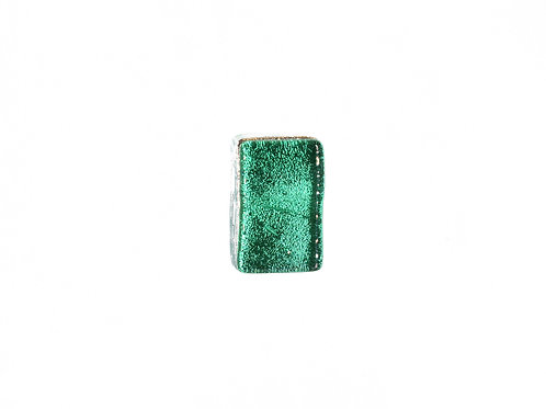 Northern Lights Glass Pendant Emerald Green