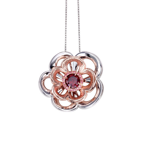 Rose Necklace | High End Jewelry by Ellen Kvam Norwegian Design